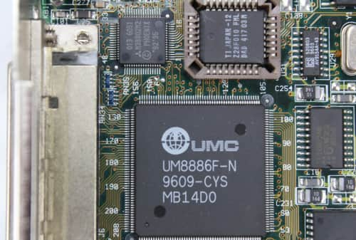 BIOS + chipset UMC