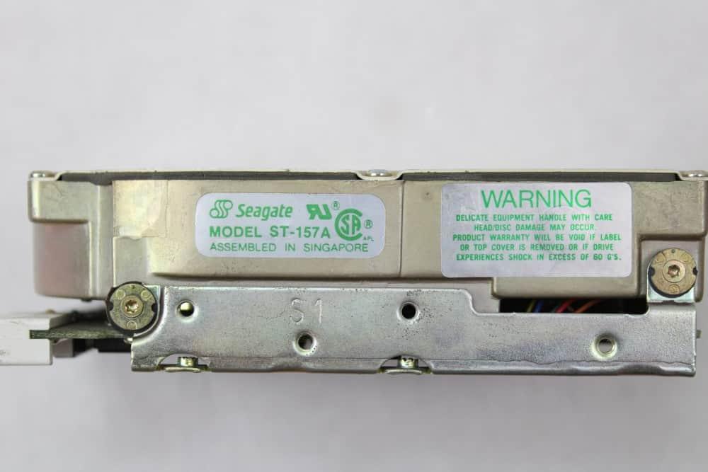 Highscreen Kompakt Serie-III 286 16MHz - Pevný disk