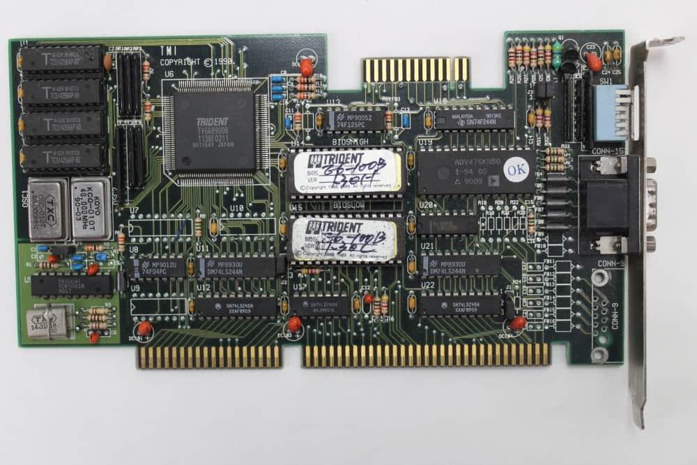 Highscreen Kompakt Serie-III 286 16MHz - Grafická karta