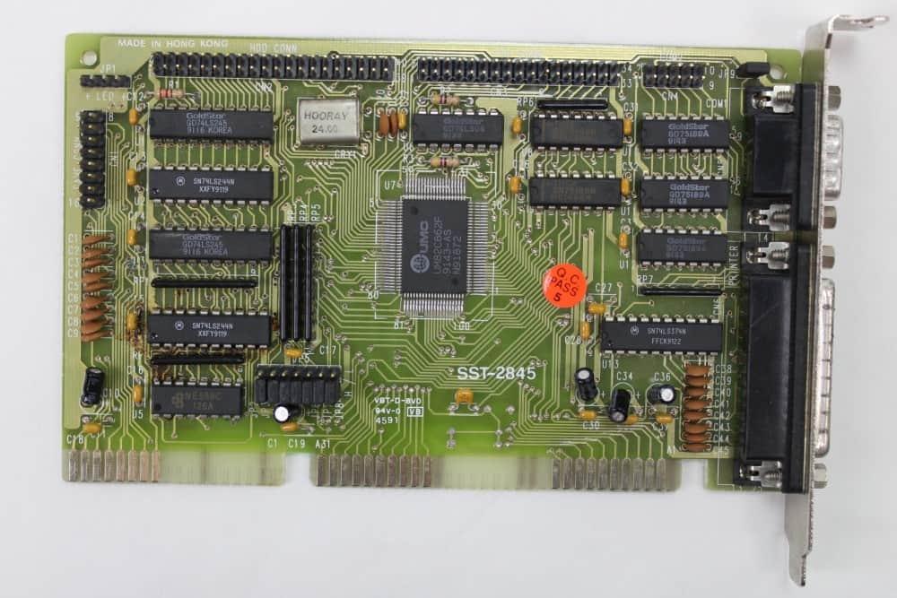 Highscreen Kompakt Serie-III 286 16MHz - FDD+IDE řadič