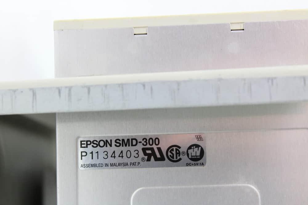Highscreen Kompakt Serie-III 286 16MHz - Štítek na disketové mechanice