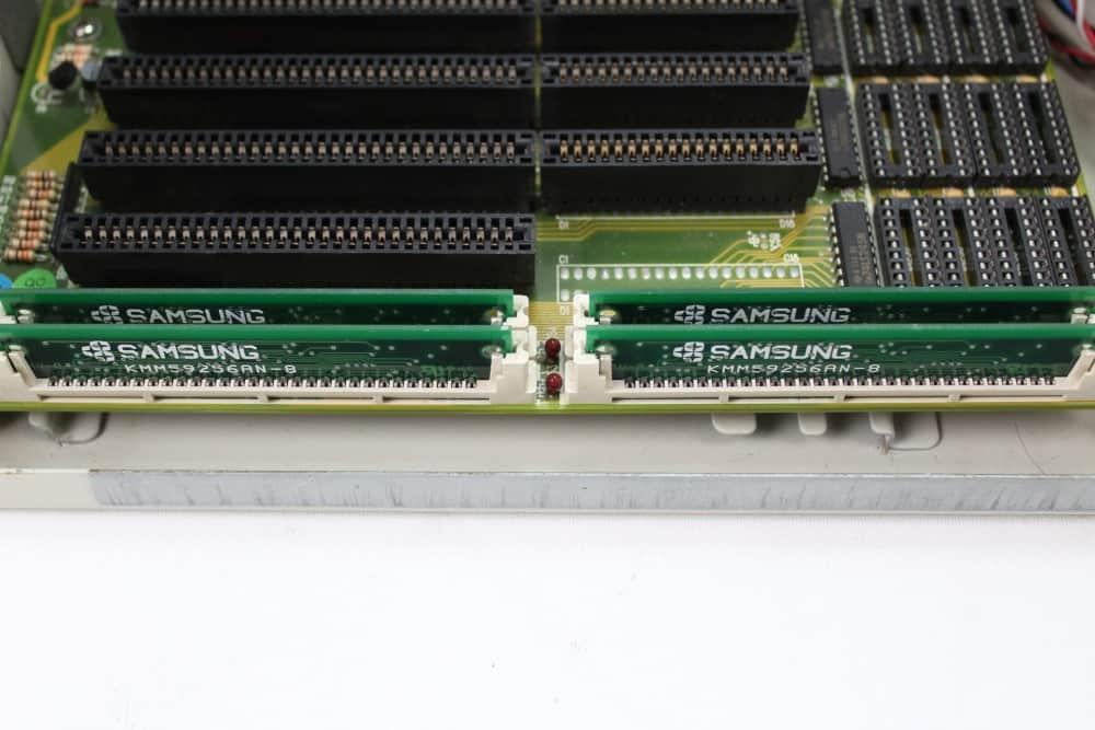 Highscreen Kompakt Serie-III 286 16MHz - Paměti RAM