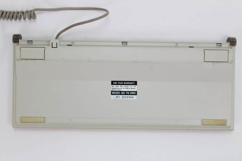 Highscreen Kompakt Serie-III 286 16MHz - Klávesnice zespodu