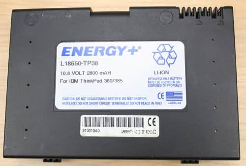 Neoriginální baterie a stále funkční.