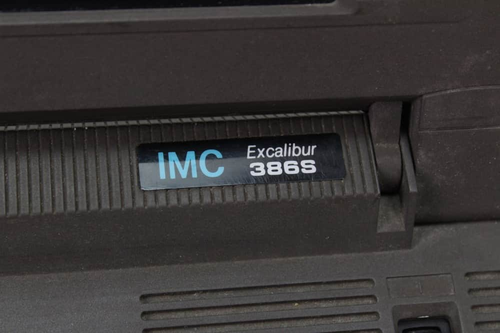 IMC-Excalibur-EL-386S - Štítek výrobce a model