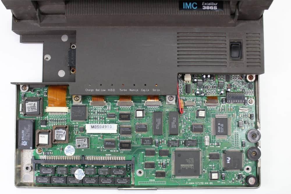IMC-Excalibur-EL-386S - Odmontovaná klávesnice
