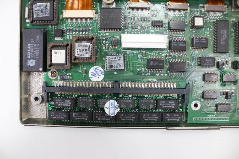 IMC-Excalibur-EL-386S - Paměť RAM z vrchu