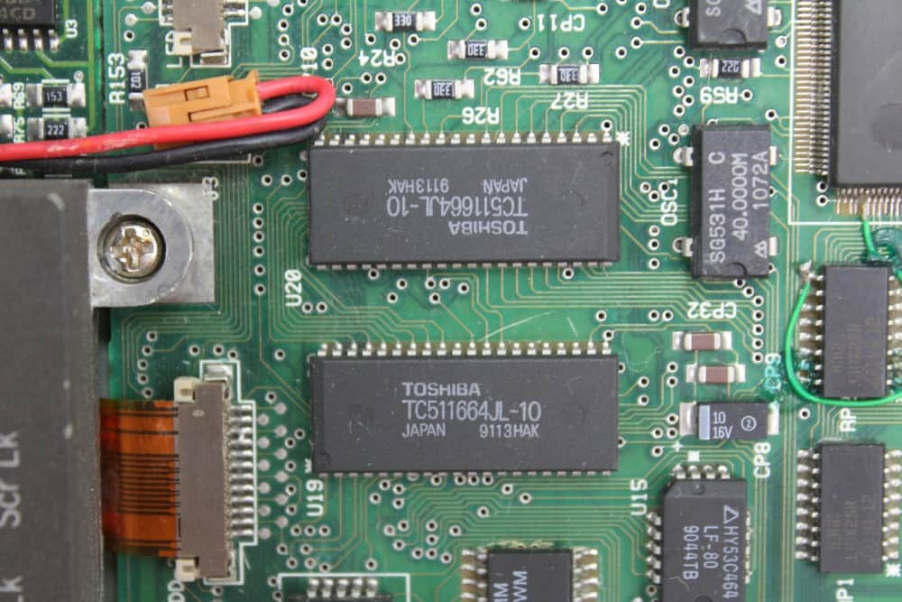 IMC-Excalibur-EL-386S - Paměť grafické karty