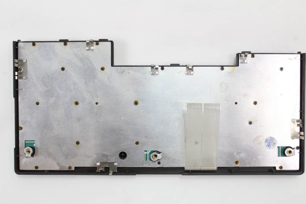 IMC Excalibur EL-386S - Samotná klávesnice zespodu