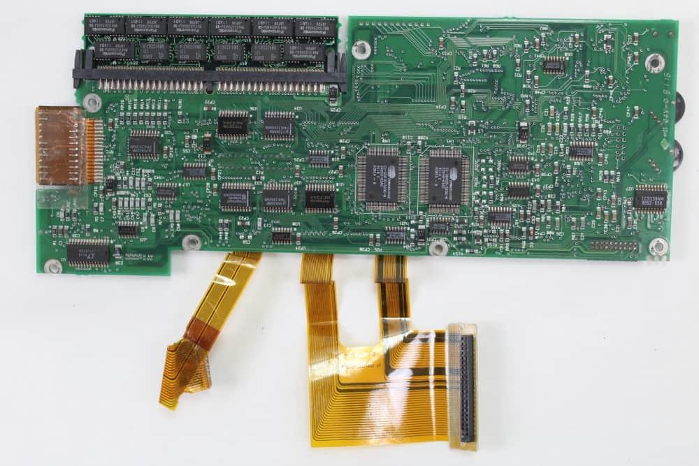 IMC Excalibur EL-386S - Základní deska zespodu
