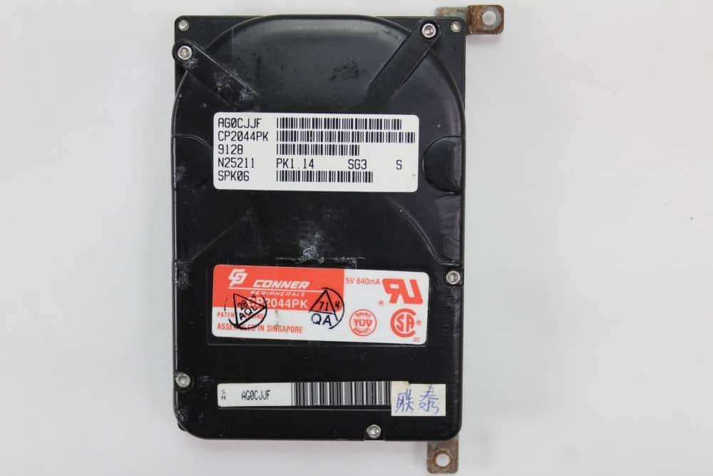 IMC Excalibur EL-386S - Pevný disk z vrchu