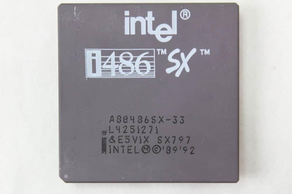 Intel 486SX 33MHz