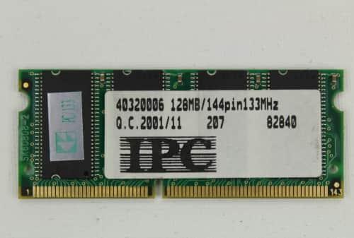 Paměť RAM 128MB
