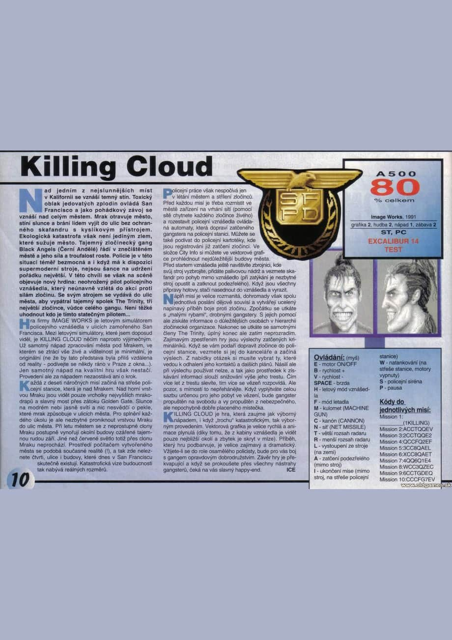 Killing Cloud