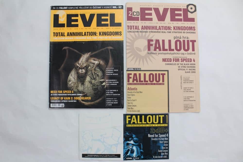 Level 06 - 1999 - složky k CD