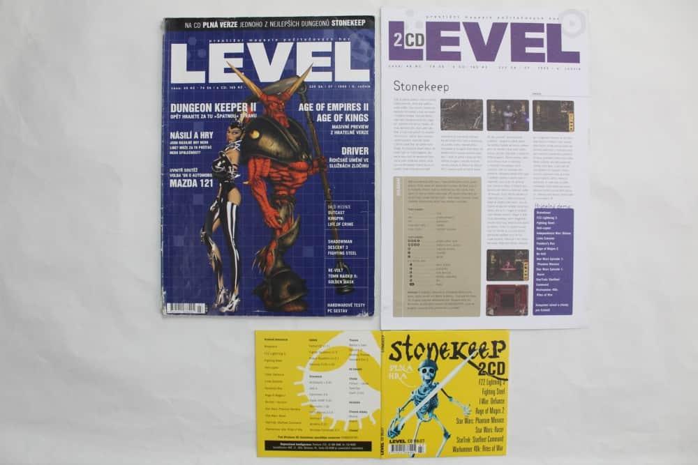 Level 07 - 1999 - složky k CD