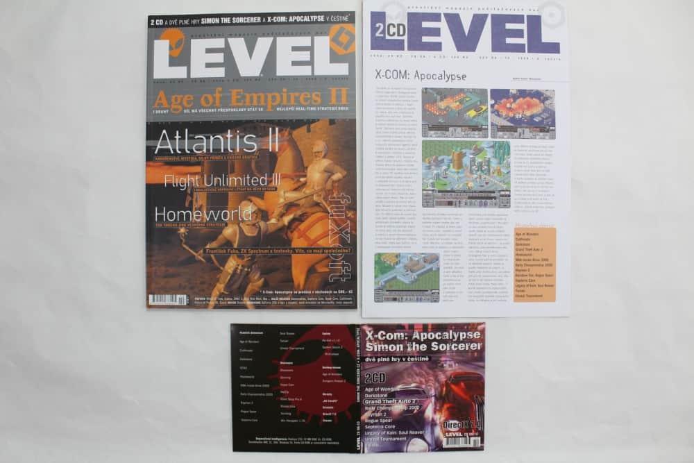 Level 10 - 1999 - složky k CD