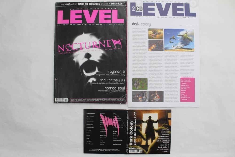 Level 11 - 1999 - složky k CD