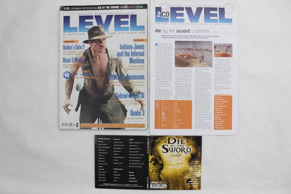 Level 12 - 1999 - složky k CD