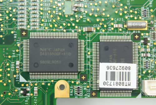 Druhá paměť 2MB RAM grafiky