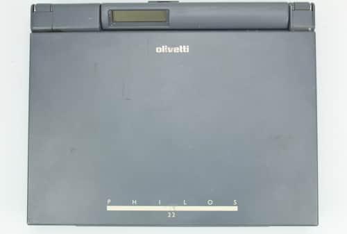 Zavřený notebook z vrchu