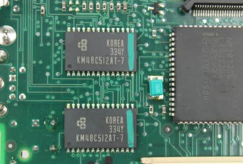 Paměť grafiky 512KB