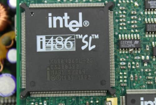 Procesor i486 SL 25MHz