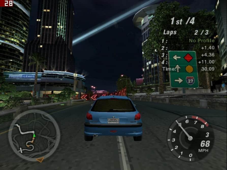 Need For Speed Underground 2 - nVidia GeForce2 MX 400 64MB SDRAM - Palit 2852