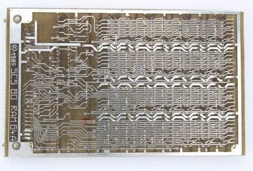 Deska RAM s 64KB zezadu