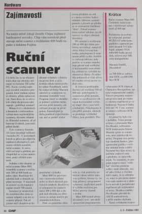 CHIP číslo 5-1991 - Ruční scanner