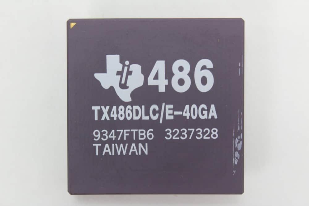 Texas Instruments 486DLC 40MHz