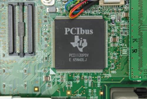 PCMCIA čip
