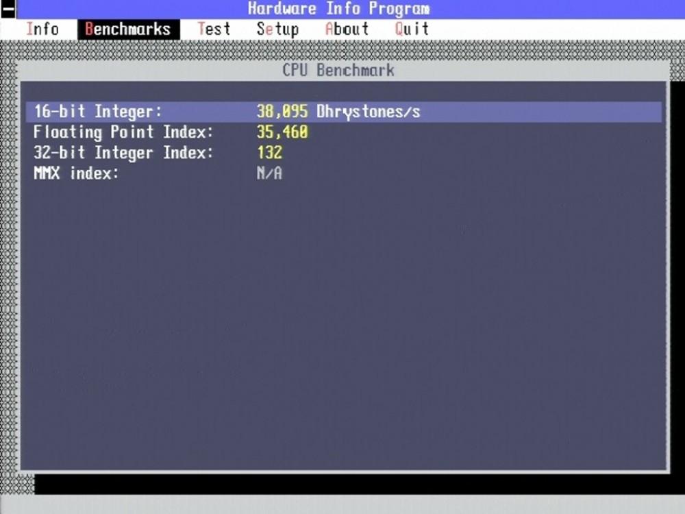 Texas-Instruments-TravelMate-4000E-Test-MS-DOS