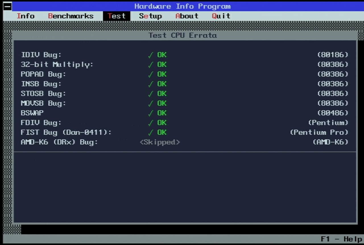 Toshiba Satellite Pro 400CDT - MS-DOS