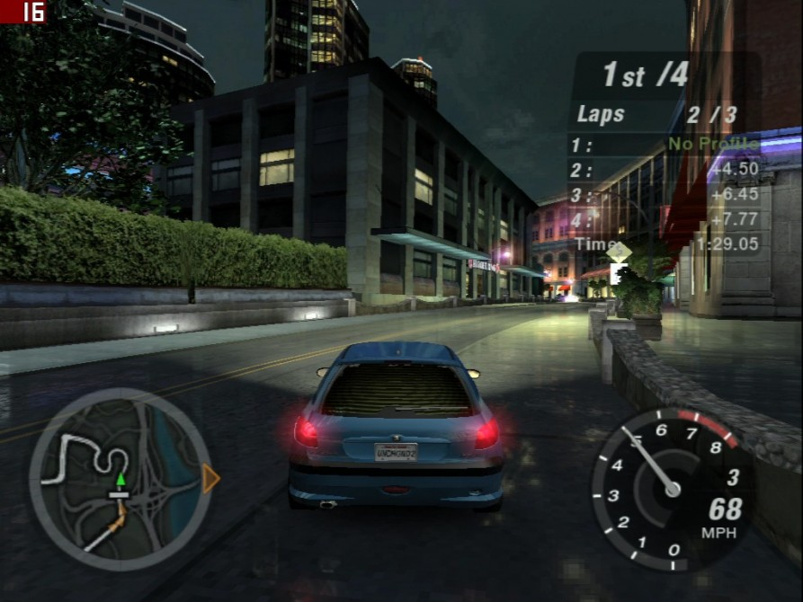 Need For Speed Underground 2 - nVidia GeForce3 TI200 64MB DDR - Sparkle SP7000