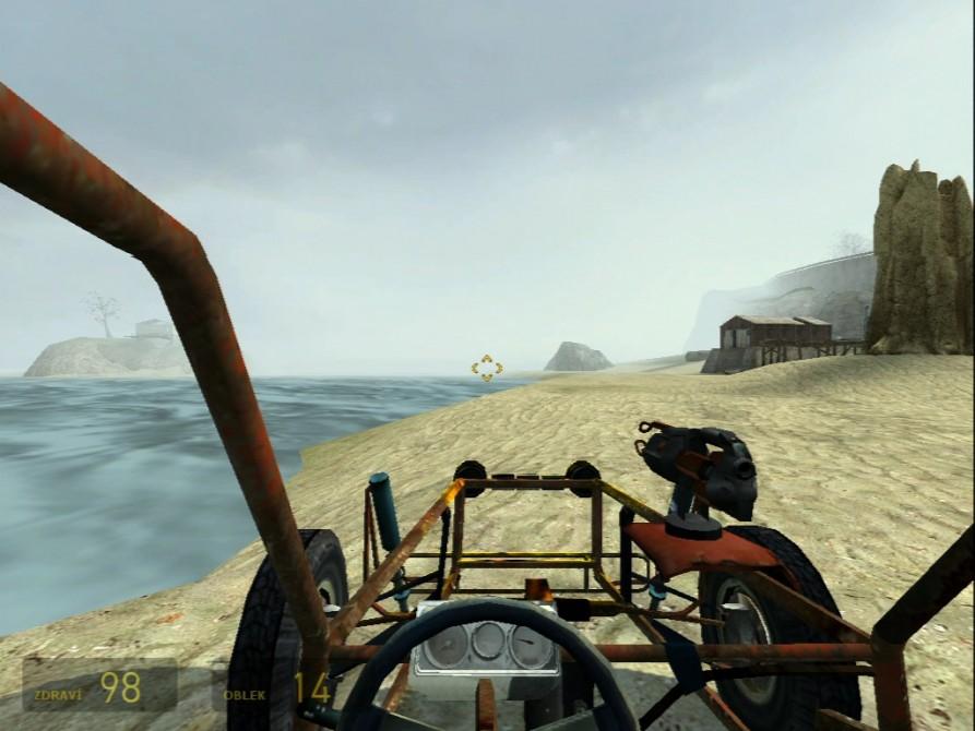 Half Life 2 (snímek vody) - nVidia GeForce3 TI200 64MB DDR - Sparkle SP7000