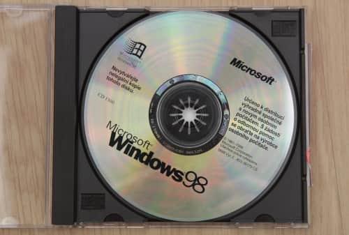Windows 98 první vydání