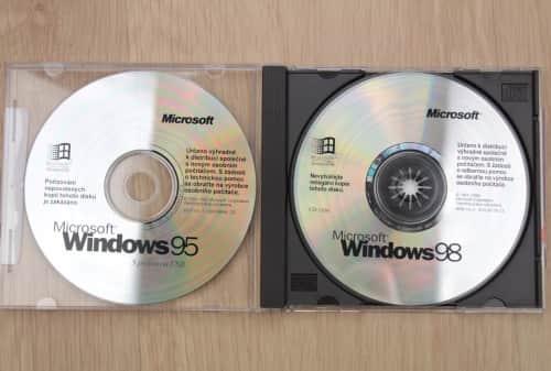 Windows 98 první vydání a porovnání s Windows 95