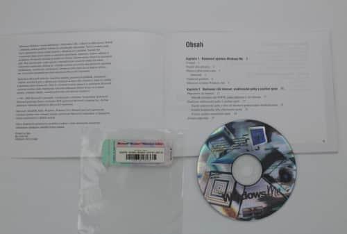 Manuál začínáme + licenční klíč a CD