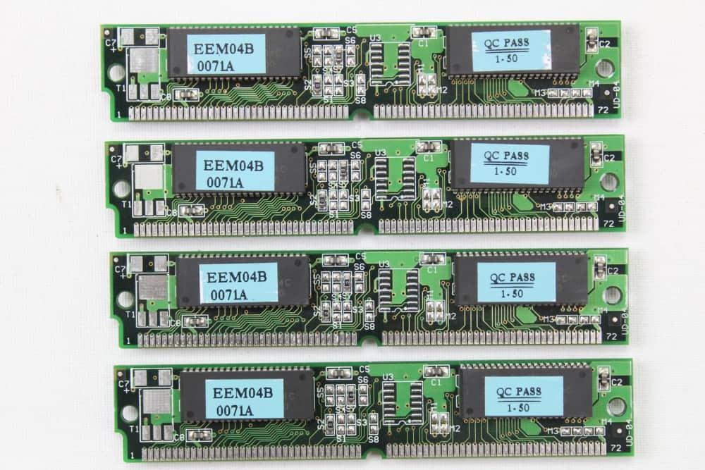 Zenith Data System Z-Station EL - Paměť RAM 4x 16MB / 50ns