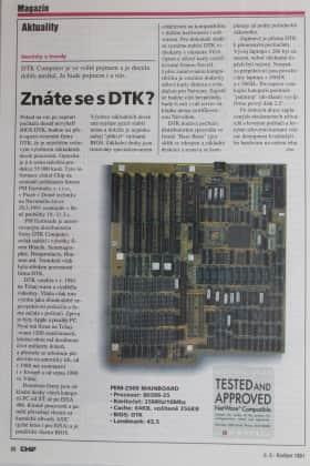 CHIP číslo 5-1991 - Znáte se s DTK?
