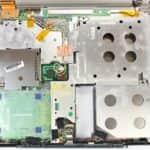 Spodní vana před rozděláním - Fujitsu Siemens Lifebook E-6540