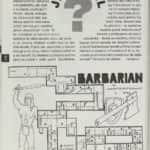 21- Jak dál + mapa hry Barbarian