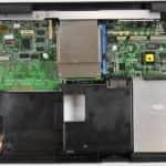 Odstraněná FDD - IBM ThinkPad 340