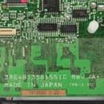 Popis na základní desce - IBM ThinkPad 340