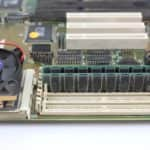 Paměti 32MB v PC Pentium OverDrive na 83Mz