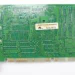 Novější grafická karta zezadu - PC VUJO 286 na 25MHz