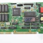 Novejší grafická karta - PC VUJO 286 na 25MHz