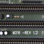 Označení desky - PC VUJO 286 na 25MHz