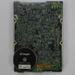 Pevný disk zespodu - PC VUJO 286 na 25MHz